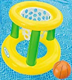 Intex - Floating Hoops 3,Incl Inflatable Pool Hoop & Basketball,Repair Patch