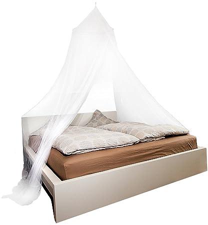 infactory Moskitonetze für Betten: Moskitonetz für Doppelbetten, 190 Mesh  (Mückennetz Bett)