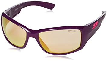 Julbo Whoops Zebra Light Women Photochromic Sunglasses, Gloss Plum ... 367c8b11e895