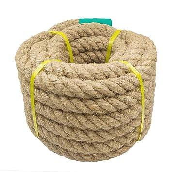 """Aoneky Cuerda de Yute - 1,18/1,5"""" Cuerda de cáñamo"""