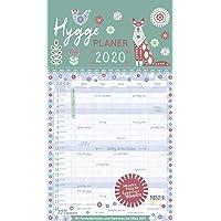 Hygge Planer 2020: Familienplaner, 5 große Spalten. Mit Ferienterminen, extra Spalte und Vorschau für 2021. Mit extra Platz für hyggelige Momente. Format: 27 x 47 cm