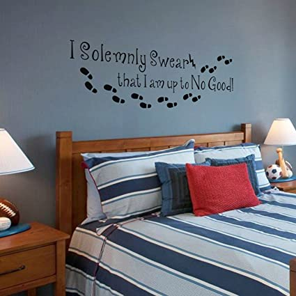 Pegatina Para Pared Harry Potter I Solemnly Swear That I Am Up To No Good!