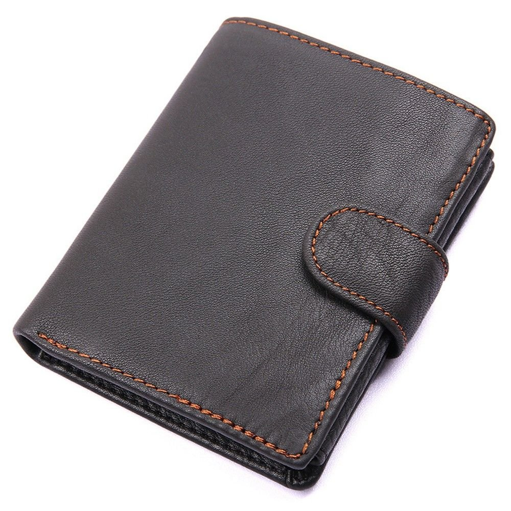 cross section open leather wallet leather short LIGYM Mens wallet