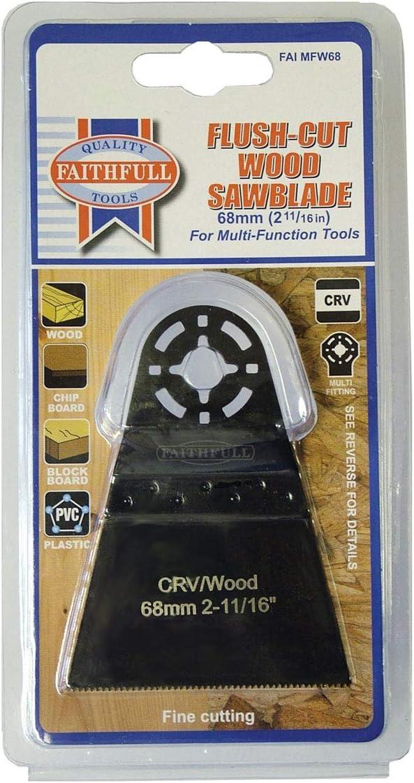 Faithfull Multi-Functional Tool CRV Flush Cut Wood Blade