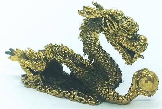 Mini Dragon figurines and statues Amulet buddhist statue dragon talisman designs
