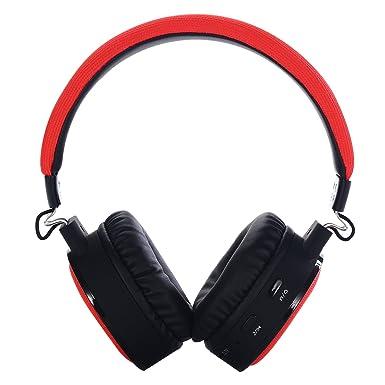 E-MARS BT018 - Auriculares estéreo inalámbricos con Bluetooth, diseño de superficie especial y