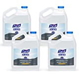 PURELL Professional Surface Disinfectant, Citrus Scent, 1 Gallon Surface Disinfectant Pour Bottle Refill (Pack of 4) - 4342-0