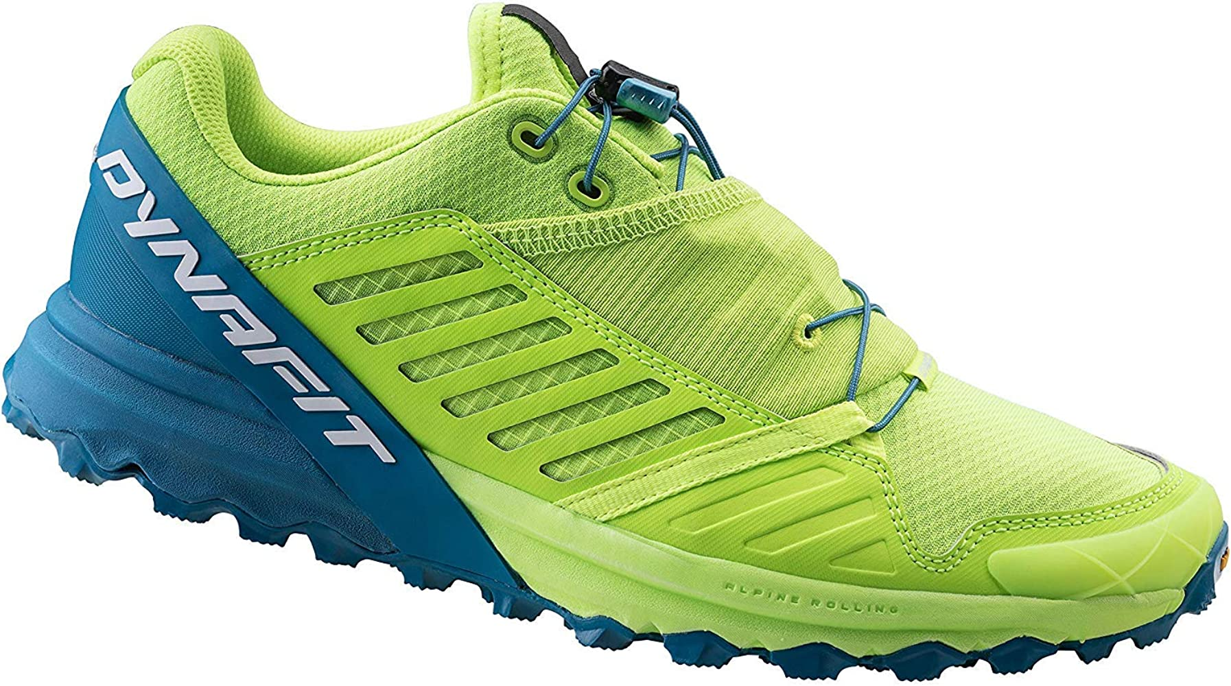 Dynafit Zapatilla Alpine Pro Fluo Yellow/Blue: Amazon.es: Deportes y aire libre
