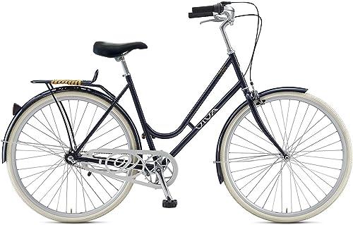 Viva Dolce 3 City Bike, 28 inch Wheels, Women s Bike, Black, 47 cm Frame
