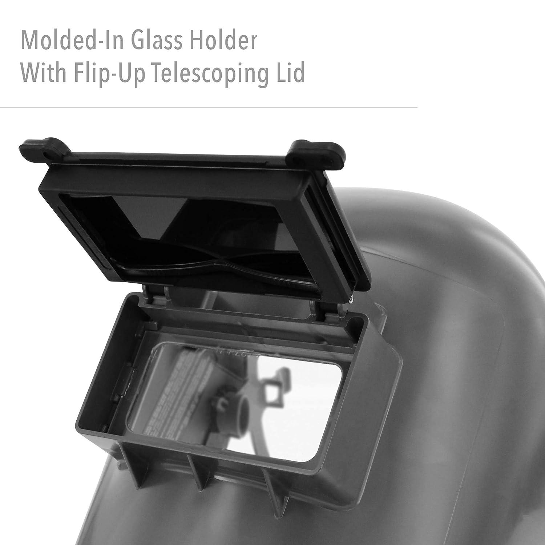 Fibre-Metal by Honeywell Tigerhood Classic Thermoplastic Welding Helmet HWMPN-906GY 906GY Gray