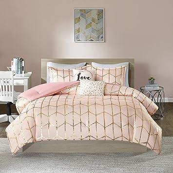 Amazon Intelligent Design Raina Comforter Set FullQueen Size Classy Bedroom Teen Set Design