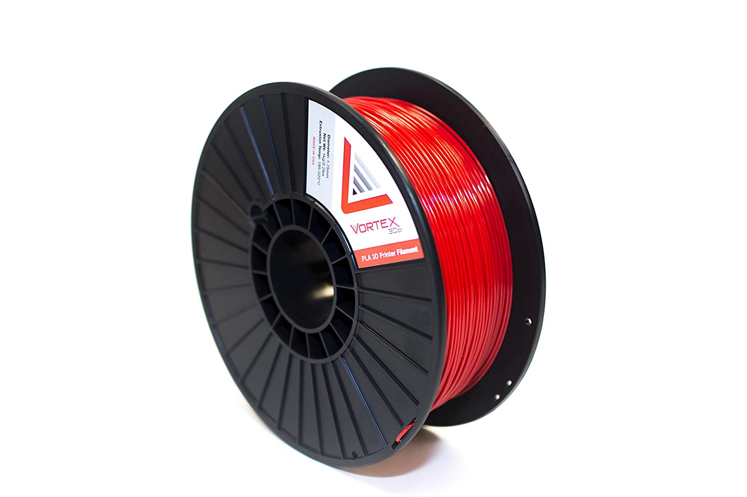 Vortex 3DP Premium PLA fabricado en Estados Unidos 1,75 mm ...