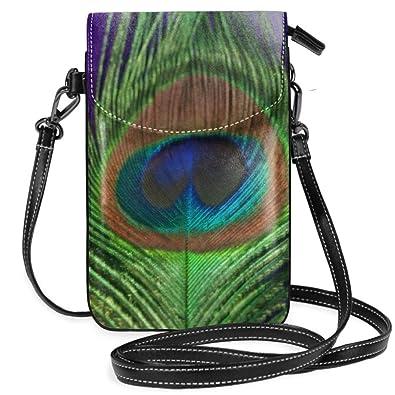 Monedero de pavo real con correa para el hombro, color ...
