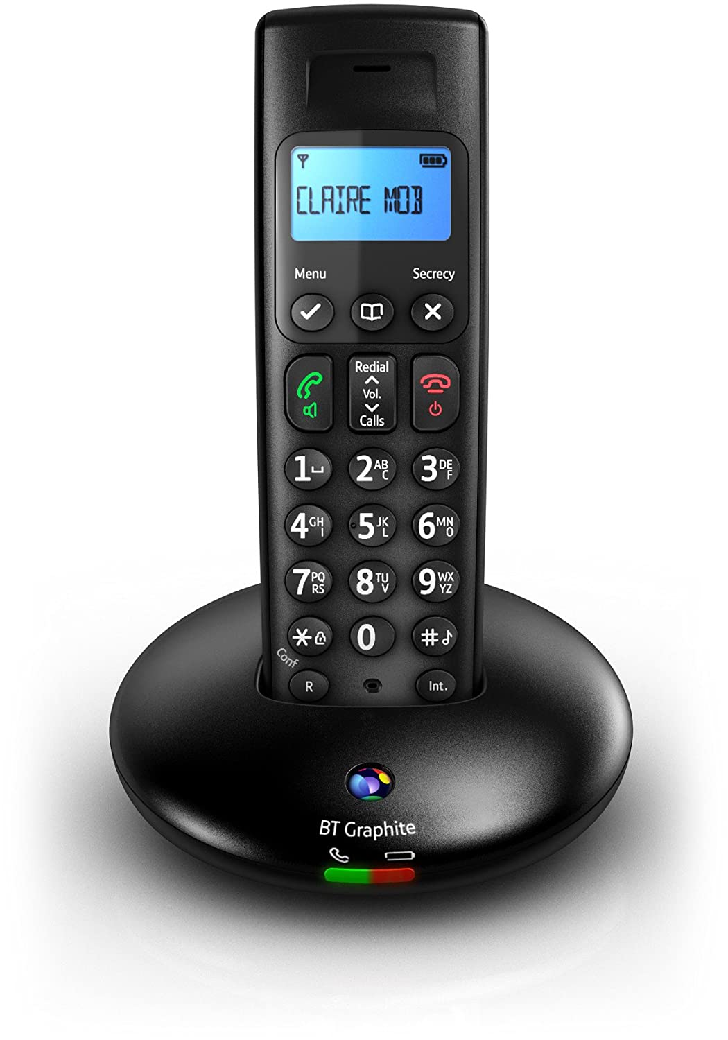 BT Graphite 2100 Single DECT Digital Cordless Phone: Amazon.co.uk:  Electronics