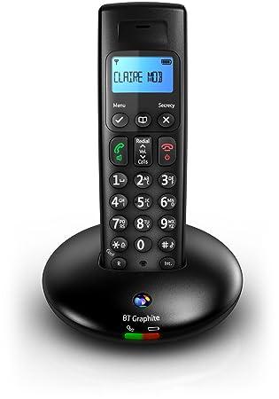bt graphite 2100 single dect digital cordless phone amazon co uk rh amazon co uk Philips Cordless Phones bt graphite 1100 cordless phone manual