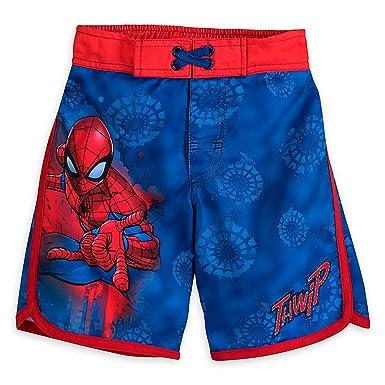 53432b4e19b71 Amazon.com: Marvel Spider-Man Swim Trunks For Boys: Clothing