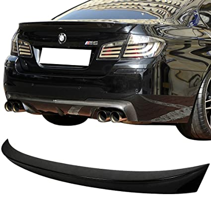 Pre Painted Trunk Spoiler Fits 2011 2016 Bmw 5 Series F10 Ac Style Abs Painted 668 Jet Black Rear Tail Lip Deck Boot Wing Other Color Available By