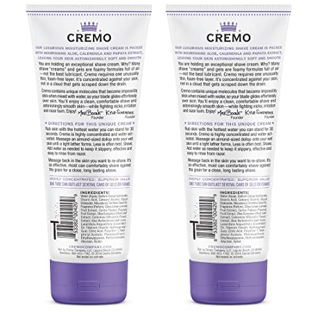 Cremo Coconut Mango Moisturizing Shave Cream, Astonishingly Superior  Shaving Cream For