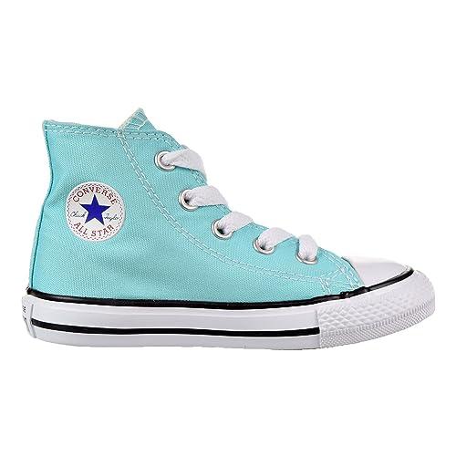 54ceb62662b7 CONVERSE TODDLER All STAR HI INFANT LIGHT AQUA SIZE 10  Amazon.in  Shoes    Handbags