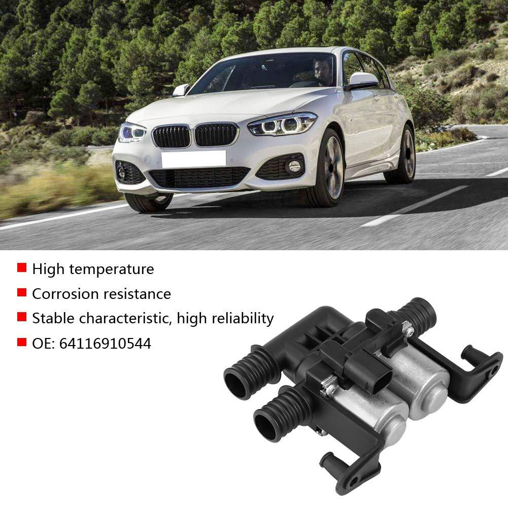 OE 64116910544 BMW Heater Control Valve 64116910544 Keenso Iron Heater Control Valve Solenoid for BMW E53 E70 F15 X5 E71 F16 X6 00-15