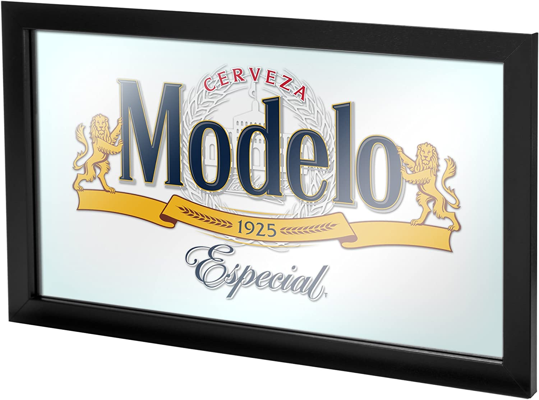 Trademark Gameroom MOD1500 Modelo Framed Mirror Wall Plaque