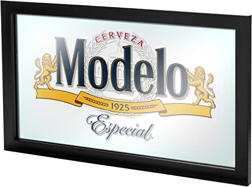 Trademark Gameroom MOD1500 Modelo Framed Mirror Wall Plaque