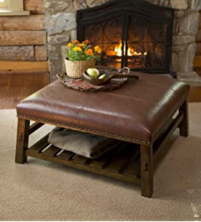 Canyon Leather Coffee Table