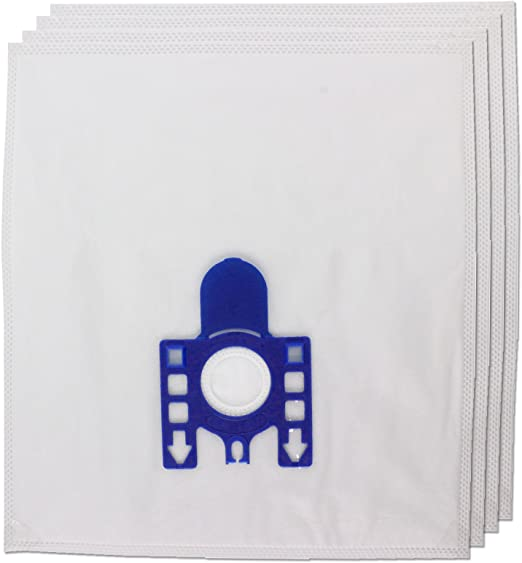 Pack of 40 + 10 Fresheners Spares2go Cloth Hepaflo Type Hoover Bags for Numatic Henry Hetty Vacuum Cleaners