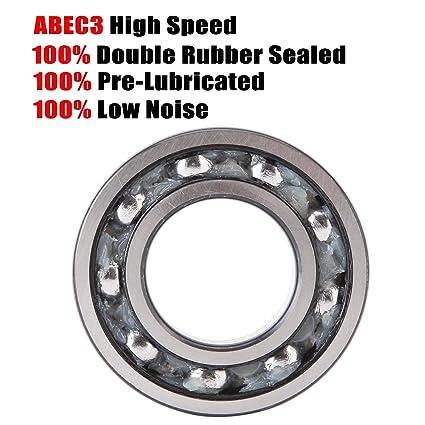 Acier Inoxydable BEARING S16005 ID 25 mm od 47 mm Largeur 8 mm