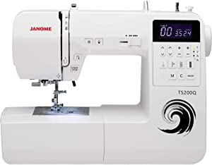 Janome Sewing Machine, White