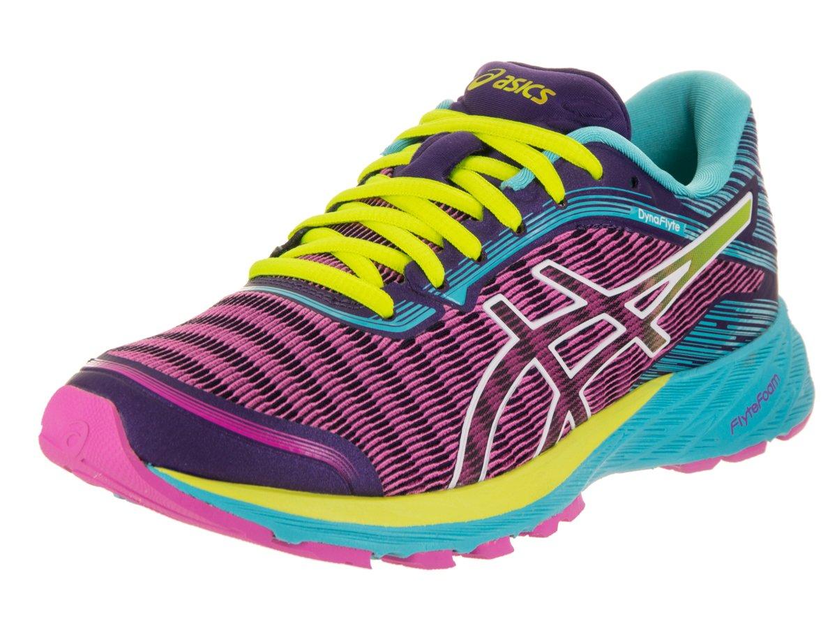ASICS Women's Dynaflyte Running Shoe B017USODYI 6.5 B(M) US|Pink Glow/Safety Yellow/Aquarium