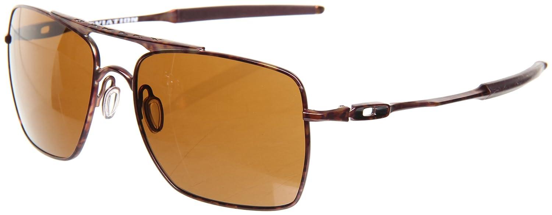 7330e31b7d9d Amazon.com: Oakley Mens Deviation OO4061-08 Square Sunglasses,Brown Camo  Frame/Dark Bronze Lens,one size: Oakley: Clothing