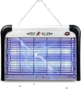 Micnaron Electric Bug Zapper with 20W Light, Mosquito Zapper Fly Catcher for Home, Kitchen, School, Resturant, Hospitals, Power Saving (2019 Upgraded)