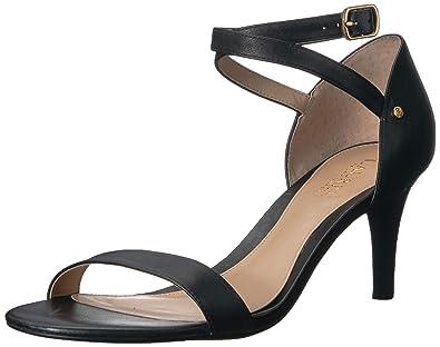 0e090699336 Lauren Ralph Lauren Women s Glinda Heeled Sandal Black 5 ...
