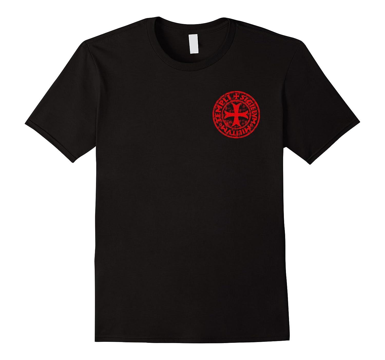 Knights Templar Crusader Code Tee Shirt-TD