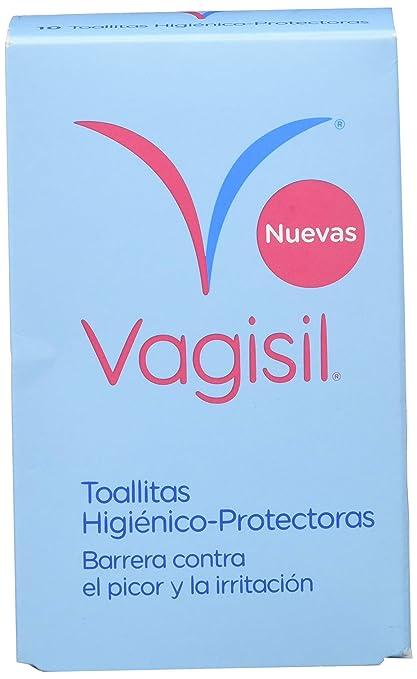 Vagisil Toallitas Higiénico-Protectoras, 10 Toallitas