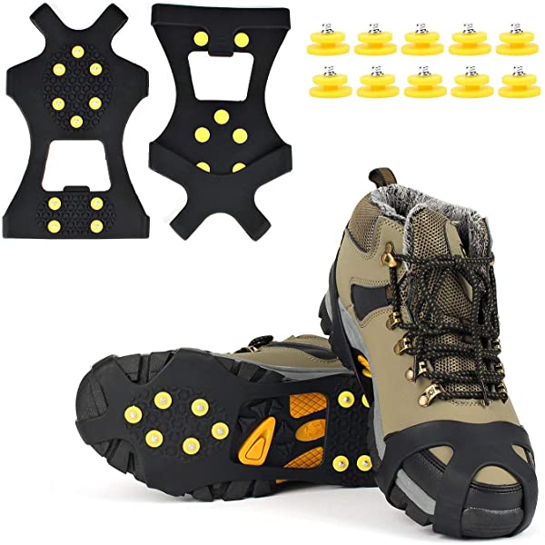 PEARL 1 Paar Schuh Spikes Easy Fix Perfect Grip in: Amazon