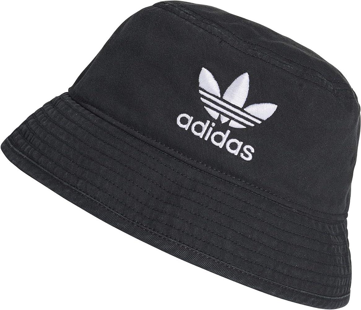 adidas Bucket AC Gorra, Mujer, Negro/Blanco, Talla Única: Amazon ...