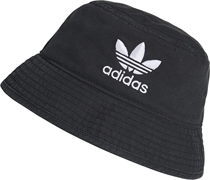 49e2e6076a0 adidas AC Bucket hat Black White  Amazon.co.uk  Clothing
