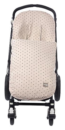 Walking Mum Gaby - Funda universal para silla con sacos de abrigo, color piedra: Amazon.es: Bebé