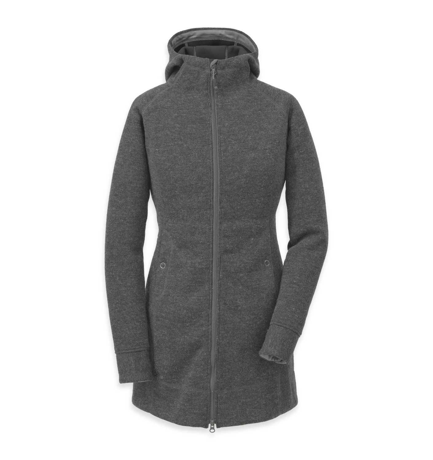 Outdoor Research Women's Salida Long Hoody, Charcoal, L by Outdoor Research