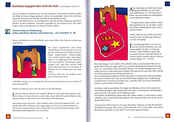 Martin Luther con el conjunto de paz Cruz Cuenta - : Libro con CD y herzförmiger - Partituras Objetivo Grupo: Kita, escuela primaria, familia, Comunidad, ...