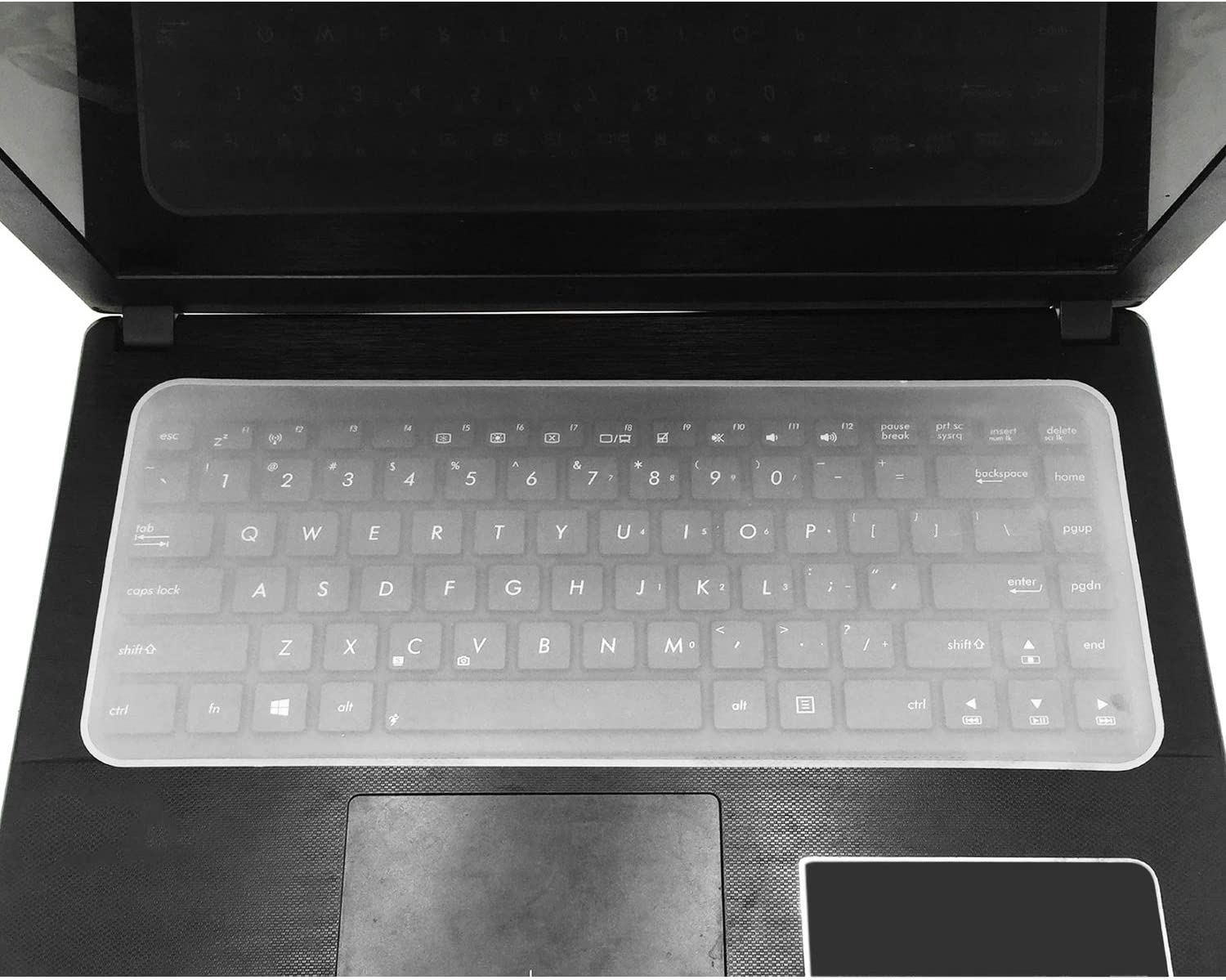 Silicone Notebook Protector Waterproof Laptop Keyboard Cover Dustproof Film 14,15//17 Inc,14 Inch