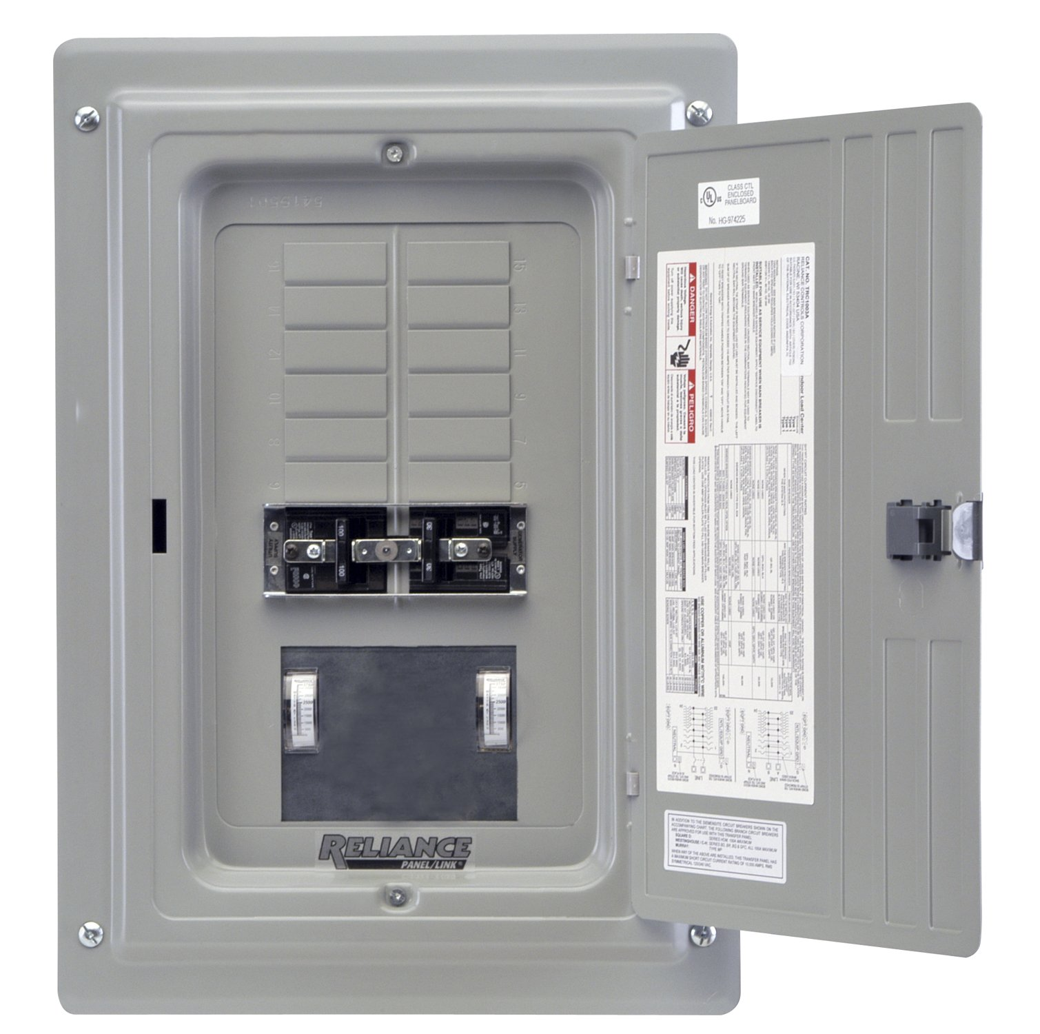 Reliance Controls Corporation TRC1005C Indoor Transfer Panel by Reliance Controls (Image #1)