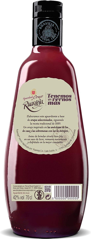 Ruavieja Aguardiente de Orujo - 700 ml: Amazon.es: Alimentación y ...