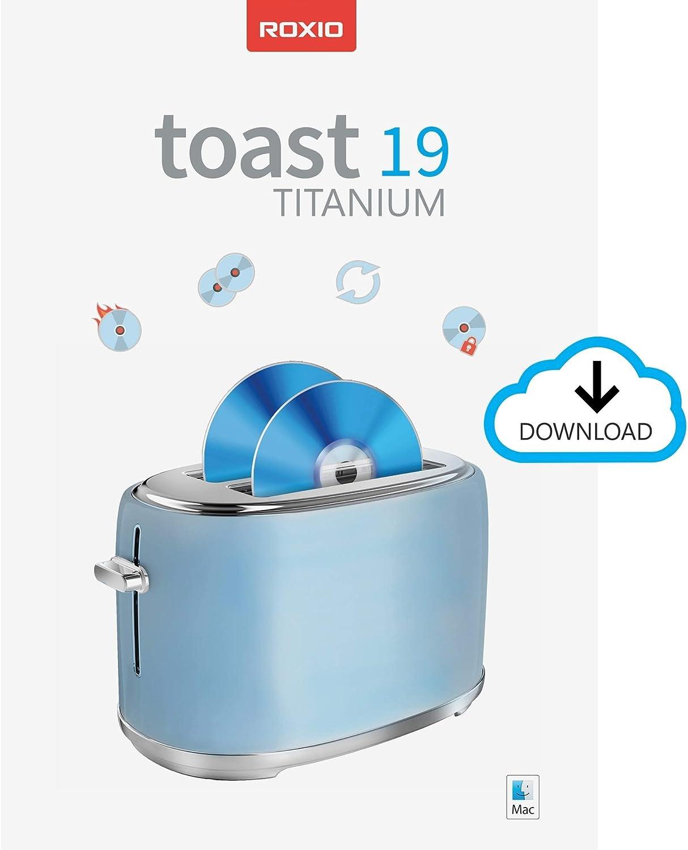 Roxio Toast 19 Titanium   CD & DVD Burner for Mac   Disc Burning, File Conversion, Multimedia Suite [Mac Download]