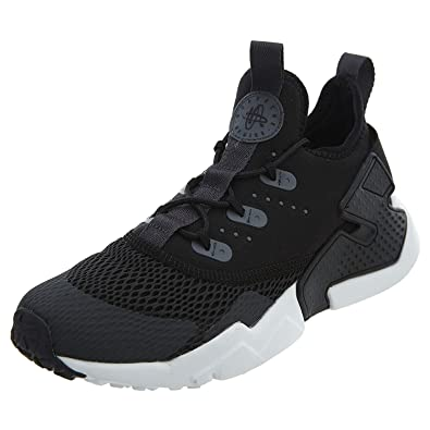 a375ac25889 Nike Youth Huarache Drift GS Textile Anthracite Black Trainers 4.5 US