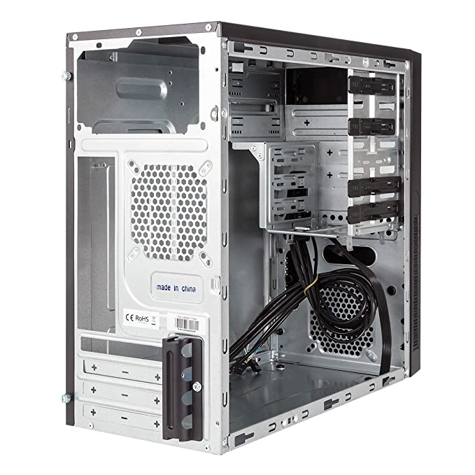 UNYKAch UK 6K Pro Caviar Torre Negro Carcasa de Ordenador - Caja de Ordenador (Torre, PC, SGCC, ITX,Micro-ATX, Negro, 0,6 mm): Amazon.es: Informática