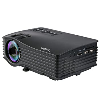 Deeplee DP36 LED LCD Mini Projector, 120\