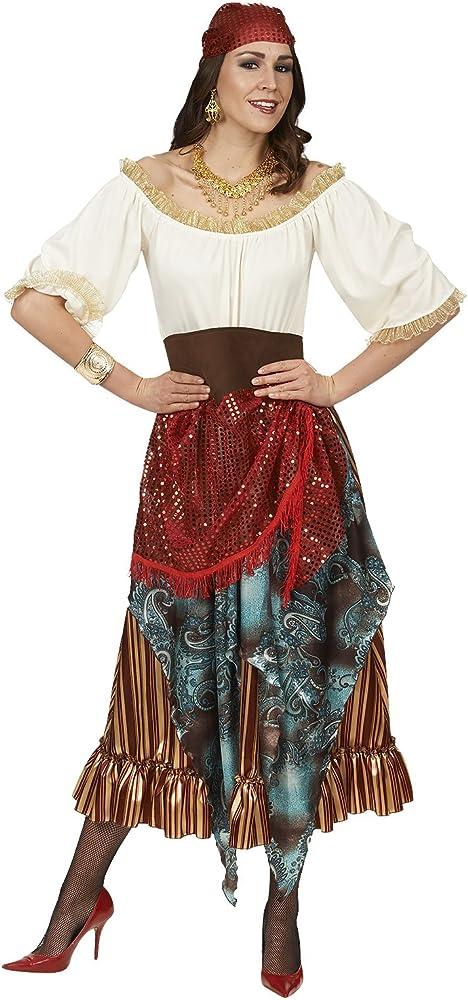 Disfraz de adivina zíngara para mujer.: Amazon.es: Ropa y accesorios